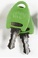 Huvudnyckel Grön